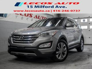 Used 2013 Hyundai Santa Fe Sport 2.0T Limited Limited Nav/Backup Cam/Pan Roof for sale in North York, ON