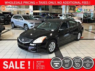 Used 2010 Nissan Altima 2.5 S - No Accident / Sunroof / Heated Seats for sale in Richmond, BC