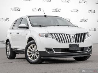 Used 2013 Lincoln MKX 3.7L V6 | AWD | Leather | THX Sound | Navigation | Panoramic roof | Rear Camera and sensors! for sale in Oakville, ON