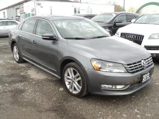 Used 2013 Volkswagen Passat Highline NAVIGATION,CAMERA SUN ROOF PUSH START for sale in Oakville, ON