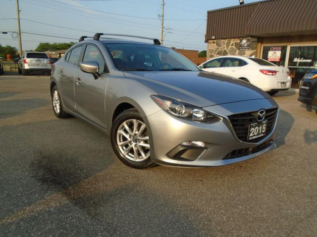 2015 Mazda MAZDA3 AUTO 1 OWNER LOW KM NAVIGATION B-TOOTH B CAMERA