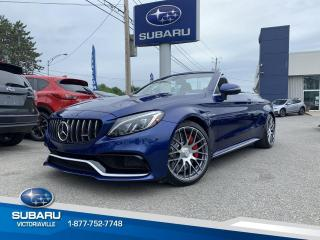 Used 2017 Mercedes-Benz C-Class ** C63 S AMG ** CONVERTIBLE for sale in Victoriaville, QC