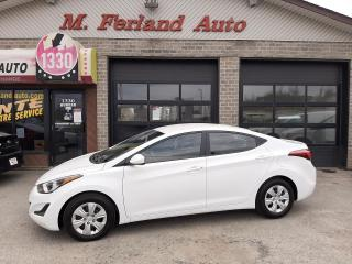 Used 2016 Hyundai Elantra L+ berline 4 portes BA for sale in Sherbrooke, QC