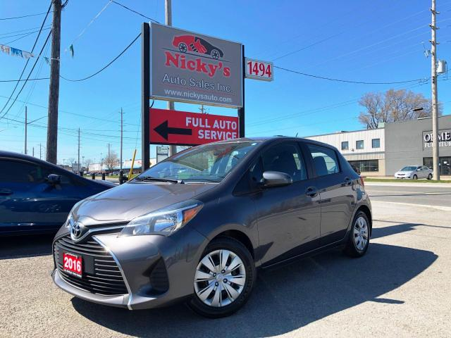 2016 Toyota Yaris LE - AUTO - NEW TIRES - NO ACCIDENTS!