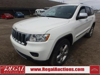 Used 2012 Jeep Grand Cherokee Overland 4D Utility 4WD 5.7L for sale in Calgary, AB