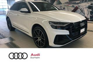 Used 2019 Audi Q8 3.0T Technik + Massage Seat | Lane Assist | Cruise for sale in Whitby, ON