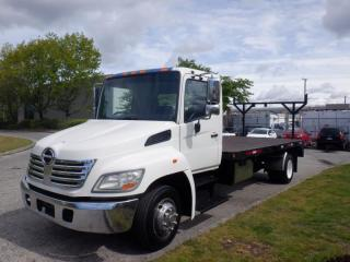Used 2009 Hino 258 Flat Deck 16.5 foot Diesel for sale in Burnaby, BC