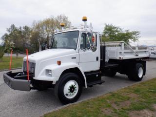 Used 2004 Freightliner FL80 Dump Truck 11 foot BOX  Diesel Air Brakes for sale in Burnaby, BC
