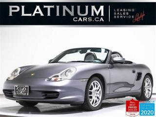Used 2003 Porsche Boxster CONVERTIBLE,RWD,CRUISE CONTROL,BOXSTER II WHEELS for sale in Toronto, ON