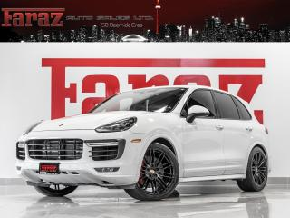 Used 2016 Porsche Cayenne TURBO|PREM PLUS PKG|B.SPOT|NAVI|REAR CAM|LOADED for sale in North York, ON