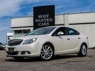Used 2013 Buick Verano LEATHER|SUNROOF|BOSE|CAMERA|SENSORS for sale in Kitchener, ON