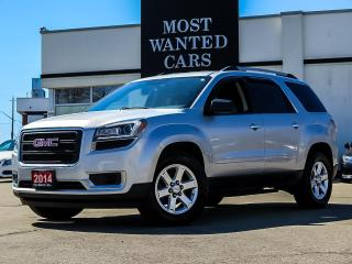 Used 2014 GMC Acadia SLE 3.6L FWD|7 PASS|CAMERA|SENSORS|P/TAILGATE| for sale in Kitchener, ON