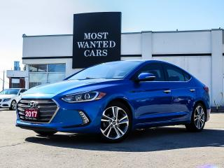 Used 2017 Hyundai Elantra LIMITED|NAVIGATION|LEATHER|INFINITY SOUND for sale in Kitchener, ON