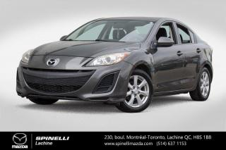 Used 2011 Mazda MAZDA3 GX GOUPE ELECTRIQUE A/C CRUISE CONTROL Mazda 3 GX 2011 for sale in Lachine, QC