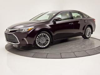 Used 2017 Toyota Avalon LIMITED NAV SIÈGES CLIM TOIT OUVRANT CUIR for sale in Brossard, QC