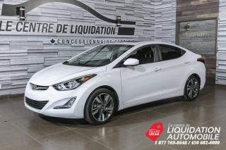 Used 2015 Hyundai Elantra GLS+TOIT+MAGS+CAM/REC+A/C+BLUETOOTH for sale in Laval, QC