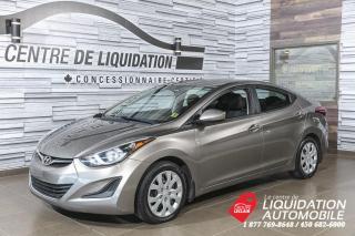 Used 2015 Hyundai Elantra GL+A/C+GR/ELEC+BLUETOOTH for sale in Laval, QC