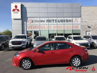 Used 2015 Toyota Corolla Cam de Recul + BLuetooth + Siege Chauffant... for sale in St-Hubert, QC