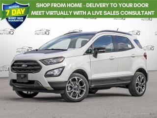 New 2020 Ford EcoSport SES MOONROOF | NAVIGATION | RAIN SENSING WIPERS for sale in Kitchener, ON