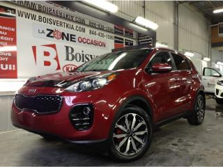 Used 2017 Kia Sportage SPORTAGE AWD EX CUIR TOIT FREINS NEUF 4ROUES ! for sale in Blainville, QC