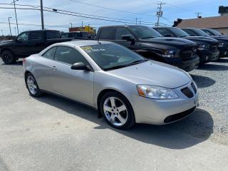 Used 2008 Pontiac G6 GT convertible tres propre peu de kilo for sale in Val-D'or, QC