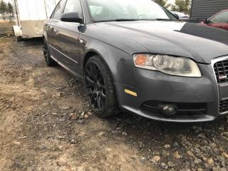 Used 2006 Audi A4 S-LINE 3,2 L MANUELLE TRÈS RARE for sale in Beloeil, QC