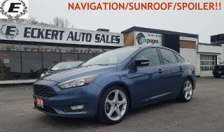 Used 2018 Ford Focus SEL/NAVIGATION/SUNROOF!! for sale in Barrie, ON