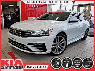 Used 2016 Volkswagen Passat Highline R-Line ** NAVI / CUIR / TOIT for sale in St-Hyacinthe, QC