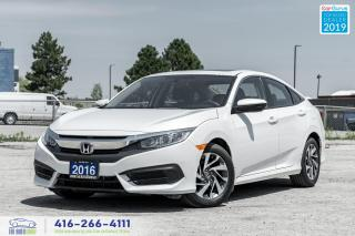 Used 2016 Honda Civic EX|Low KM|Bluetooth|Backup Cam|Keyless Entry for sale in Bolton, ON