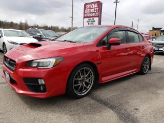 Used 2015 Subaru WRX STI Sport-tech Package 6 SPEED!! NAVIGATION !!  SUNROOF !! for sale in Cambridge, ON