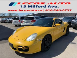 Used 2008 Porsche Cayman S COUPE, Manual Transmission full exhaust system for sale in North York, ON