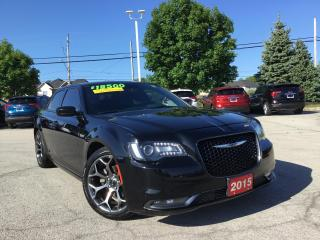 Used 2015 Chrysler 300 S - Navigation - Roof - Leather for sale in Grimsby, ON
