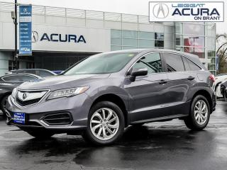 Used 2017 Acura RDX Tech TECH | NEWBRAKES | 1OWNER | OFFLEASE | AWD | ROOF for sale in Burlington, ON