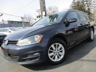 Used 2015 Volkswagen Golf Sportwagon SportWagen TDI SPORT WAGON|DIESEL|ONE OWNER|AUTOMA for sale in Burlington, ON