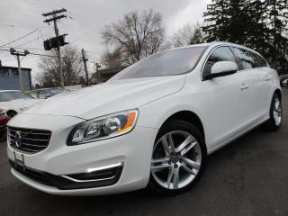 Used 2017 Volvo V60 T5 PREMIER|NAVIGATION|LEATHER|POWER MOONROOF for sale in Burlington, ON
