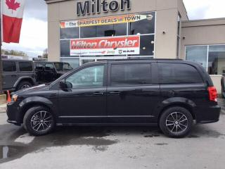 Used 2019 Dodge Grand Caravan GT|LEATHER|DVD|NAVIGATION|POWER DOORS for sale in Milton, ON