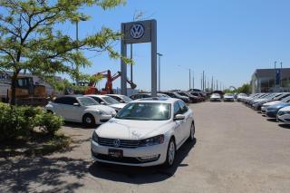Used 2014 Volkswagen Passat 2.0L TDI DSG Highline for sale in Whitby, ON