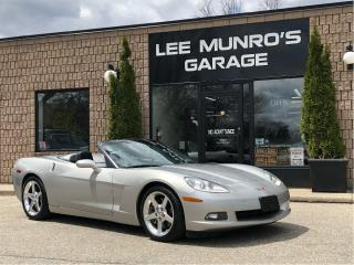 Used 2005 Chevrolet Corvette 3LT for sale in Paris, ON