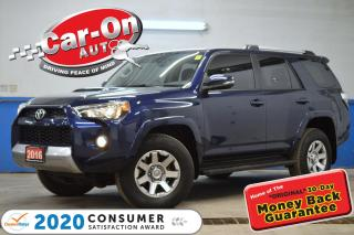 Used 2016 Toyota 4Runner SR5 TRAIL EDITION LEATHER NAV SUNROOF LOADED for sale in Ottawa, ON