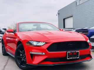Used 2019 Ford Mustang  ECO PREMIUM CONVERTIBLE VENT MEMORY SEATS NAVI BACKUP SRS! for sale in Brampton, ON