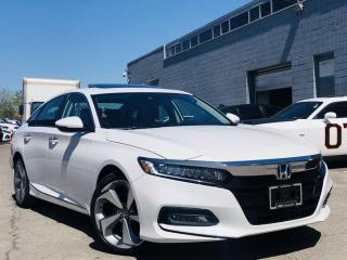 Used 2018 Honda Accord Sedan |TOURING|HUD|ADAPTIVE CRUISE|SUNROOF|LANE ASIST|VENT SEATS! for sale in Brampton, ON