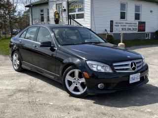 Used 2010 Mercedes-Benz C-Class No-Accidents 4MATIC Leather Sunroof HARMON KARDON for sale in Sutton, ON