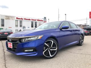 Used 2019 Honda Accord Sedan Sport 2.0 - Rear Camera -  Sunroof -  Low KMS!!! for sale in Mississauga, ON