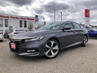 Used 2019 Honda Accord Sedan Touring 2.0 - Leather - Navigation - Loaded!! for sale in Mississauga, ON