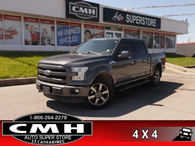 2016 Ford F-150 Lariat  NAV DUAL-ROOF BS BUCKETS TOW HS/CS