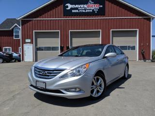Used 2012 Hyundai Sonata Limited Auto Limited. Leather. Cruise. for sale in Dunnville, ON