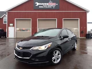 Used 2016 Chevrolet Cruze LT One owner. No Accidents. MANUAL SHIFT. Back up camera. Heated seats. for sale in Dunnville, ON