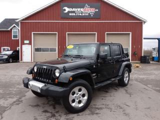 Used 2012 Jeep Wrangler Unlimited Unlimited Cruise. Manual. Soft and Hard Top included. for sale in Dunnville, ON