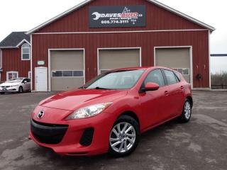 Used 2013 Mazda MAZDA3 Hands-free. Cruise. Winter tires. for sale in Dunnville, ON