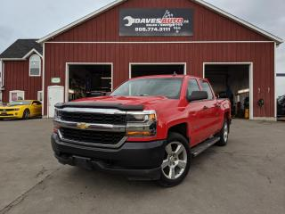 Used 2017 Chevrolet Silverado 1500 LS Backup Camera! WIFI! Bluetooth! 4x4! for sale in Dunnville, ON